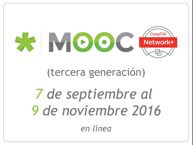 #MOOCNPlus de código verde| segunda generación