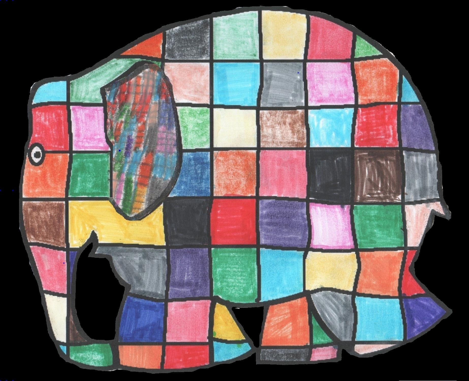 2013_Elmer_elephant_patchwork