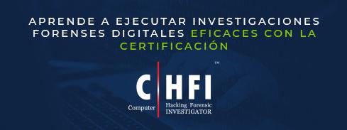 Banner certificación CHFI